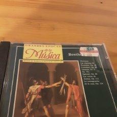 CDs de Música: GRANDES EPOCAS DE LA MÚSICA- BEETHOVEN. Lote 255567385