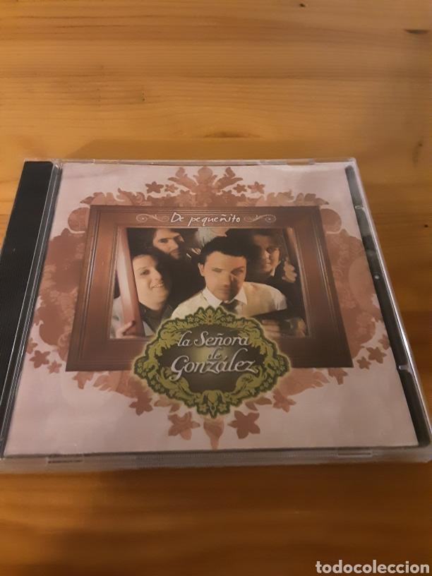 LA SEÑORA DE GONZÁLEZ- DE PEQUEÑITO (Música - CD's Melódica )