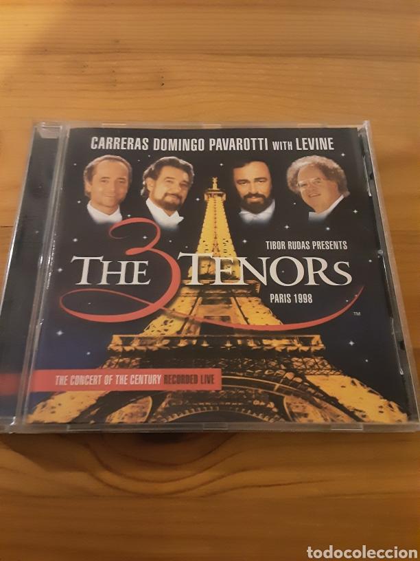 THE 3 TENORS PARÍS 1998 (Música - CD's Clásica, Ópera, Zarzuela y Marchas)