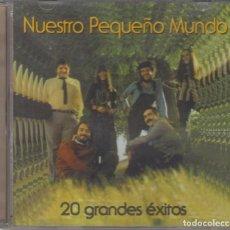 CD di Musica: NUESTRO PEQUEÑO MUNDO CD 20 GRANDES ÉXITOS 2003 FONOMUSIC. Lote 255577400