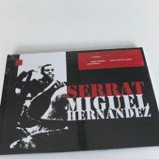 CDs de Música: JOAN MANUEL SERRAT-MIGUEL HERNANDEZ A ESTRENAR,2 CD,LIBRO,DVD (4,31 ENVÍO CERTIFICADO). Lote 255595325