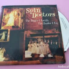CDs de Música: SPIN DOCTORS - THE BIGGER I LAUGH, THE HARDER I CRY (CDSINGLE CARTON PROMO, DAS RECORDS 1999). Lote 255631965