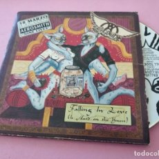 CDs de Música: AEROSMITH: FALLING IN LOVE (IS HARD ON THE KNEES), CD SINGLE COLUMBIA , 1997. FUNDA CARTÓN.. Lote 255633070