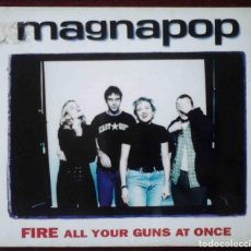 CDs de Música: CD: MAGNAPOP - FIRE ALL YOUR GUNS AT ONCE - 4 TEMAS - IMPECABLE.. Lote 255661145