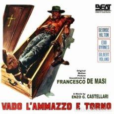 CDs de Música: VADO... L´AMMAZZO E TORNO / FRANCESCO DE MASI CD BSO. Lote 255662495