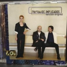CDs de Música: PRESUNTOS IMPLICADOS - VERSION ORIGINAL - CD ALBUM 1999 PEPETO. Lote 255663910