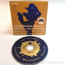 CDs de Música: SUPER MARIO GALAXY OFFICIAL SOUNDTRACK CD ORIGINAL. Lote 255779805