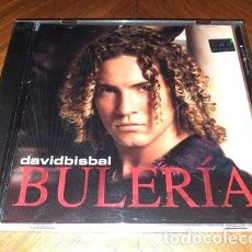 CDs de Música: DAVID BISBAL BULERIA CD 2004 ARG POP LATINO. Lote 255779960