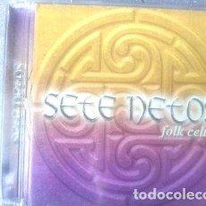 CDs de Música: SETE NETOS CD FOLK CELTA. Lote 255855305