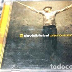 CDs de Música: DAVID BISBAL PREMONICION CD ORIGINAL. Lote 255871425