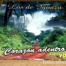 CDs de Música: LOS DE IGUAZU CORAZON ADENTRO VOL 2 CD. Lote 255872405