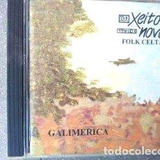 CDs de Música: XEITO NOVO CD GALIMERICA EDICION NACIONAL. Lote 255884010
