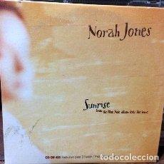CDs de Música: NORAH JONES SUNRISE CD SIMPLE PROMO. Lote 255900025