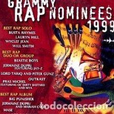 CDs de Música: 1999 GRAMMY RAP NOMINEES 1999 ELEKTRA ALEMANIA. Lote 255905500