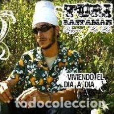 CDs de Música: TURI RASTAMAN VIVIENDO EL DIA A DIA CD NUEVO SELLADO. Lote 255910240