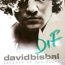CDs de Música: DAVID BISBAL CD SINGLE DIFUSION ESCLAVO DE TUS BESOS. Lote 255910735