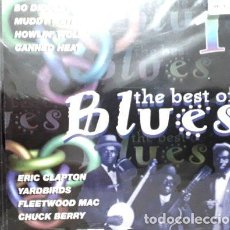 CDs de Música: VARIOUS CD THE BEST OF BLUES ARGENTINA. Lote 255915465