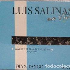 CDs de Música: LUIS SALINAS EN VIVO DIA 2 TANGO CD DVD. Lote 255915775