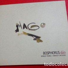CDs de Música: BOSPHOROS DUO SERKAN YILMAZ HORACIO CACOLIRIS CD. Lote 255916415