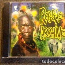 CDs de Música: REGGAE ARCHIVE VARIOUS ARTISTS CD USADO MADE IN BRAZIL. Lote 255916565
