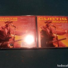 CDs de Música: CURTIS MAYFIELD - THE MASTERS - CD 17 TEMAS - EAGLE RECORDS 1997. Lote 255923965