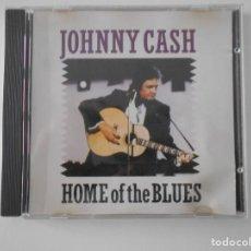 CDs de Música: JOHNNY CASH. HOME OF THE BLUES. COMPACTO CON 16 TEMAS.. Lote 255926155