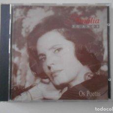 CDs de Música: AMALIA. 50 ANOS. OS POETAS. AMALIA RODRIGUES. COMPACTO EMI CON 22 CANCIONES.. Lote 255935610