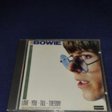 CDs de Música: DAVID BOWIE LOVE YOU TILL TUESADY. Lote 255956835