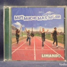 CDs de Música: LIMANDO - MUY MUCHO MAS MEJOR - CD. Lote 255957825