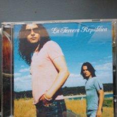 CDs de Música: LA TERCERA REPÚBLICA CD. Lote 255958065