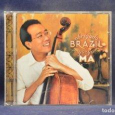 CD de Música: YO-YO MA - OBRIGADO BRAZIL - CD. Lote 255962375