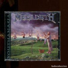 CDs de Música: MEGADETH. YOUTHANASIA. CD. Lote 255964285