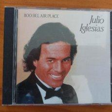 CDs de Música: CD JULIO IGLESIAS - 1100 BEL AIR PLACE (5C). Lote 255966800