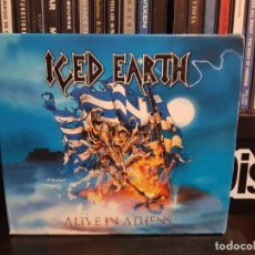 CDs de Música: ICED EARTH - ALIVE IN ATHENS - 3 CD'S. Lote 255967385