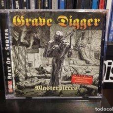 CDs de Música: GRAVE DIGGER - MASTERPIECES. Lote 255969710