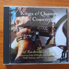 CDs de Música: CD KINGS & QUEENS OF COUNTRY (5F3). Lote 255978320