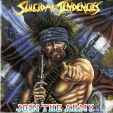 CDs de Música: SUICIDAL TENDENCIES - JOIN THE ARMY CD 1987 THRASH HARDCORE. Lote 255994185