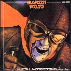 CDs de Música: BARÓN ROJO - METALMORFOSIS -ZAFIRO CD 1991 METAL -PRECINTADO. Lote 255995090