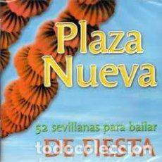 CDs de Música: PLAZA NUEVA - 52 SEVILLANAS PARA BAILAR. DE FIESTA. Lote 255996130