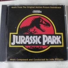 CDs de Música: JURASSIC PARK - JOHN WILLIAMS - BANDA SONORA ORIGINAL - COMO NUEVOS. Lote 255997115