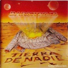 CDs de Música: BARÓN ROJO - TIERRA DE NADIE CD 1998 NUEVO PRECINTADO -METAL. Lote 255997205