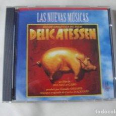 CDs de Música: DELICATESSEN . CD BANDA SONORA DE CARLOS D´ALESIO - NUEVO. Lote 255998295