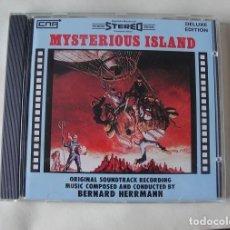 CDs de Música: CD BERNARD HERRMANN - LA ISLA MISTERIOSA / MISTERIOUS ISLAND - COMO NUEVA - ENVIO GRATIS. Lote 256001520