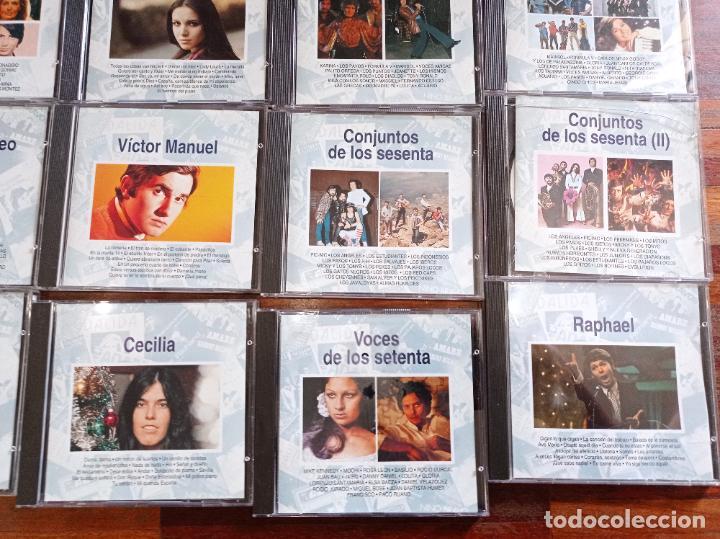"CDs de Música: Lote de 36 cds ""La música de tu vida"" de Planeta agostini. Coleccion.Pop español. - Foto 7 - 256015805"