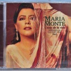 CDs de Música: CD. MARIA DEL MONTE. COSAS DE LA VIDA. ANTOLOGIA DE LAS SEVILLANAS. VOLUMEN 3. PRECINTADO. Lote 256025495