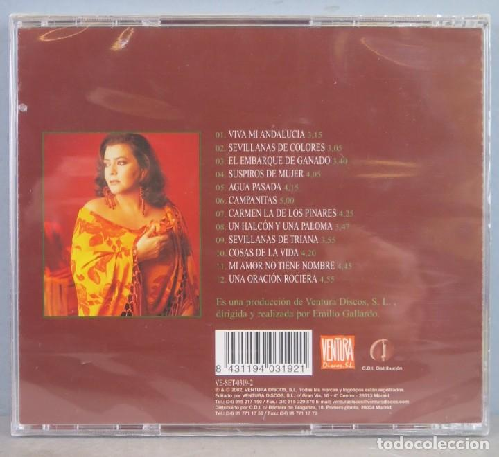 CDs de Música: CD. MARIA DEL MONTE. COSAS DE LA VIDA. ANTOLOGIA DE LAS SEVILLANAS. VOLUMEN 3. PRECINTADO - Foto 2 - 256025495