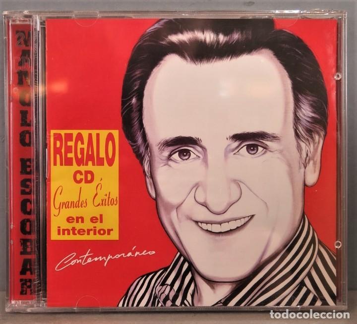 2 CD. MANOLO ESCOBAR. CONTEMPORANEO. PRECINTADO (Música - CD's Flamenco, Canción española y Cuplé)
