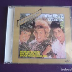 CDs de Música: ANDREWS SISTERS - CD CAPITOL RECOP 16 EXITOS - SWING JAZZ POP 40'S - LEVE USO -. Lote 256064325
