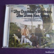 CDs de Música: THE CHAMBERS BROTHERS ‎– THE TIME HAS COME - CD LEGACY - PSICODELIA SOUL ROCK - 4 TEMAS EXTRA. Lote 256065310