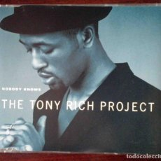CDs de Música: CD: NOBODY KNOWS - THE TONY RICH PROJECT - 4 TEMAS.. Lote 256084280